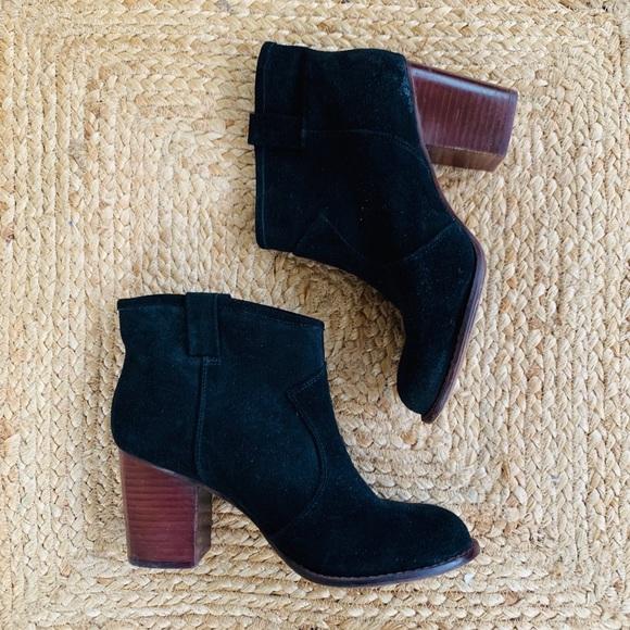 Splendid Shoes   Womens Suede Black